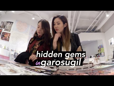Discovering New Spots in Garosugil, Seoul