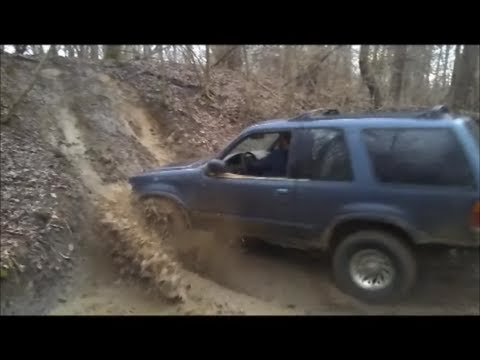 Toyota Ford Runner >> ford explorer and toyota 4-runner off-road part 2 - YouTube