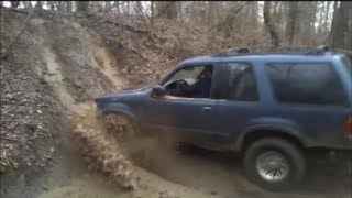 ford explorer and toyota 4-runner off-road part 2