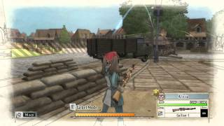 Valkyria Chronicles Episode 2 PC gameplay