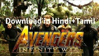 Avengers infinity war in Hindi+Tamil in 720p download link