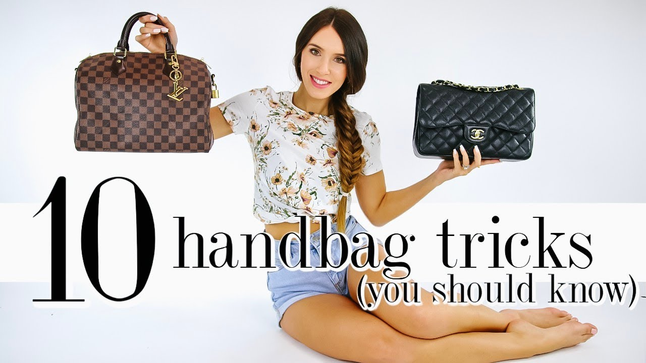 10 Handbag Tricks EVERY Girl Should Know! *life-changing*