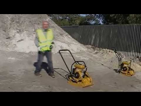 How to Start a Plate Compactor