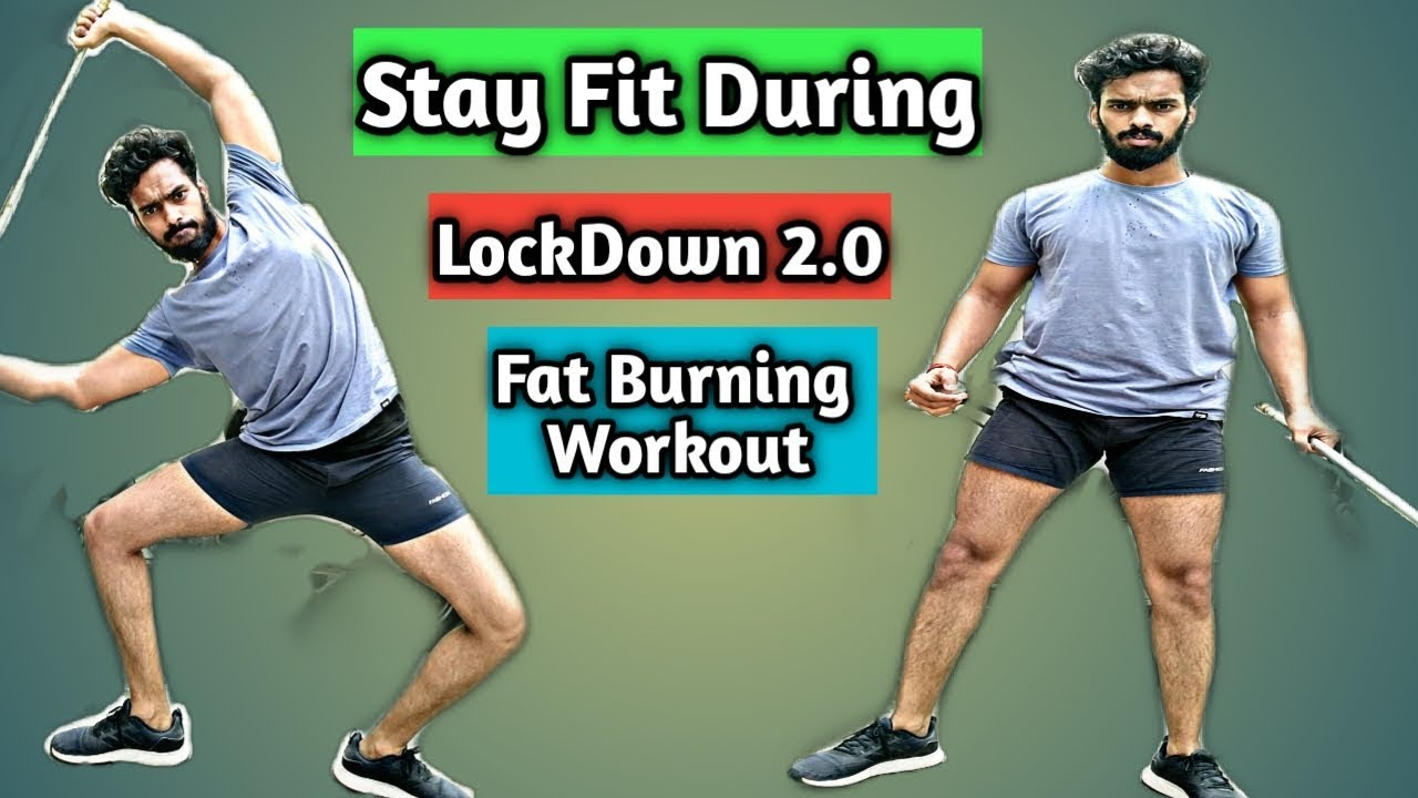 STAY FIT DURING INDIA LOCKDOWN 2.0 WITH 4 BEST FAT BURNING CARDIO WORKOUT WITHOUT GOING GYM