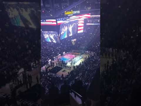 Antelope Crossing Middle School Band Performance at Golden 1 Center