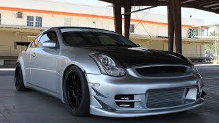 550 hp twin turbo infiniti g35 coupe one take
