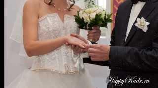слайд - шоу, фотосъемка свадьбы в Москве, студия HappyKadr.ru