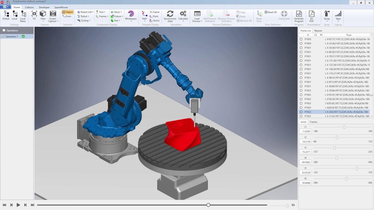 3D printing using a Motoman robot