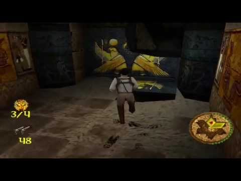 Игра по фильму (Мумия) на PS1 (Mummy)