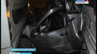 Жуткая авария в Нижнекамске