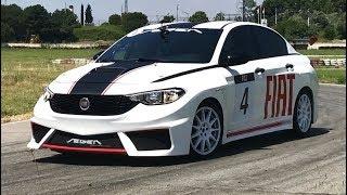180 bg Egea yarış otomobili Testi