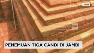 Penemuan Tiga Candi di Jambi