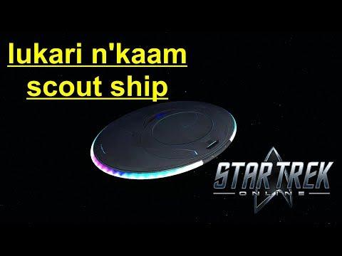 Star Trek Online - Lukari Scout Ship Gameplay