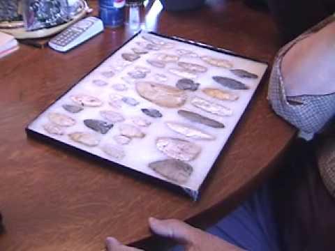 Paleo Indian Fluted Point Clovis Fight Hunt Mastodon