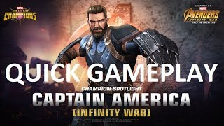 Quick Gameplay on my 5* Captain American Infinity War