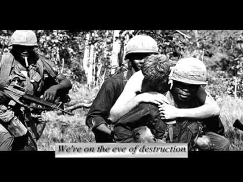 Vietnam Protest Video- Eve of Destruction