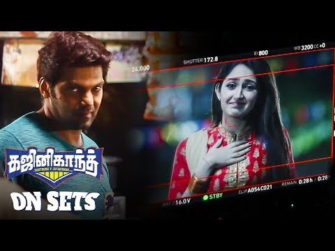 Making of Ghajinikanth - Exclusive | Arya | Sayyeshaa