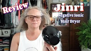 Jinri Negative Ionic Hair Dryer Review - YOU NEED THIS ! !