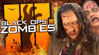 "Black Ops 3 Zombies | Secret LIVE-ACTION ""ZOMBIES"" Trailer Hints / Easter Eggs! (BO3 Zombies)"