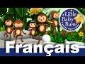 Cinq petits singes | Comptines | LittleBabyBum!