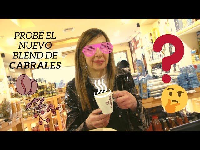 Visitando Café Cabrales calle Arenales de Buenos Aires probé...