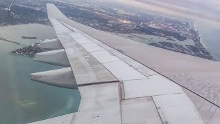 AIRBUS A330-200 WING VIEW | Tap Portugal | MIA - LIS