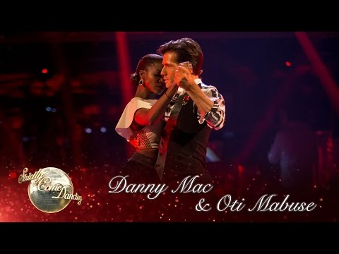 Danny Mac & Oti Argentine Tango to 'I Heard it Through the Grapevine' by Marvin Gaye  Strictly 2016