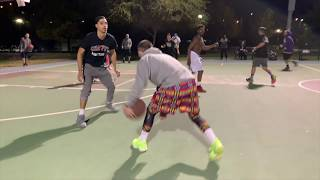 White Iverson breaking ankles!!