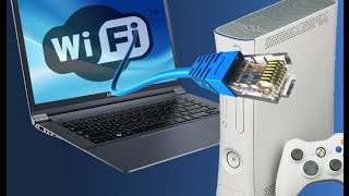 como conectar o xbox 360 na internet sem fio usando um computador ou notebook