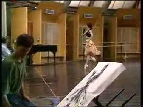 Sylvie Guillem, n°1 (rehearsal.)