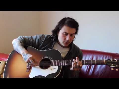 frank iero being extra while playing guitar for 10 minutes straight