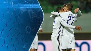 Video 15. krog: Krško - Maribor 0:5 ; Prva liga Telekom Slovenije 2017/18 download MP3, 3GP, MP4, WEBM, AVI, FLV November 2017