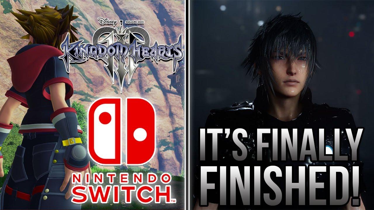 Kingdom Hearts 3 On Nintendo Switch Final Fantasy XV