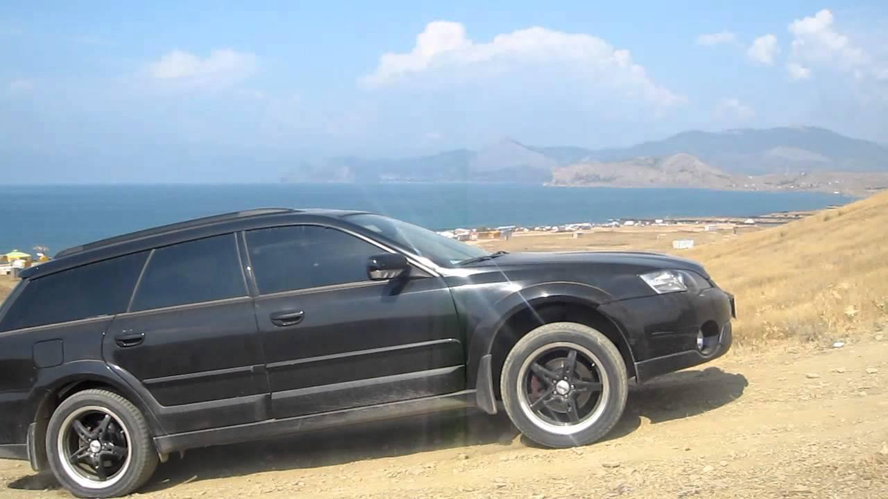 2005 Subaru Outback >> subaru outback 2.5 offroad 7 - YouTube