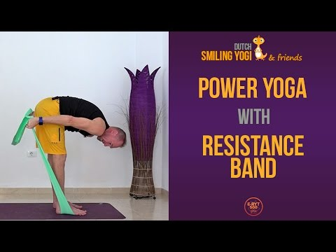 Power Yoga with Resistance Band (full, free class)