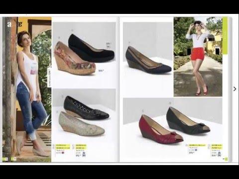 044197784b Nuevo catalogo andrea calzado cerrado 2016 primavera verano - YouTube