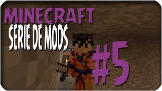 ¡¡MINECRAFT!! | SERIE DE MODS - Capitulo 5 | Terminando la casa subterranea