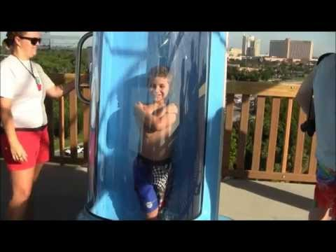 Ihu's Breakaway Falls at SeaWorld Orlando's Aquatica - A Kid's View