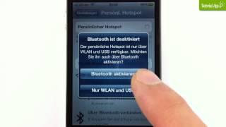 iPhone Tutorial: Persönlicher Hotspot
