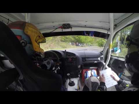 Tőzsér Áron - Rajki Bálint - Kazár Rally 2017, BMW 325i (GY6)