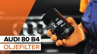 Ägarmanual Audi 80 B3 online