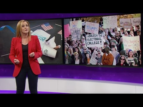 Samantha Bee Analyzes The Post-Election Wave Of Depression And Discovers Who She Can Blame