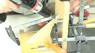 Shop Made Tenon Jig - Accessory For The Super Sled - Mitering And Crosscut Sled