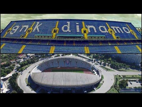 Stadion Maksimir vs Poljud || HD