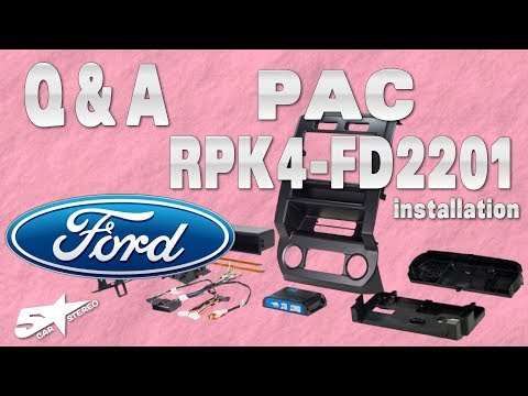 All The Questions About Installing The Pac Ford F150 RPK4 FD2201