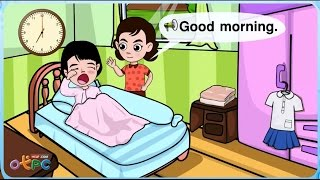 Good morning - ภาษาอังกฤษ ป.2
