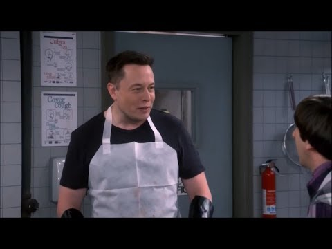 All Elon Musk Hollywood Cameos (HD) - Big Bang Theory, Iron Man 2 & more