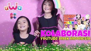 Pelangi Pelangi Kolaborasi 34 Channel Youtuber Anak Indonesia Lagu Anak  video lucu