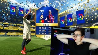 FIFA 17: OMFG 2x TOTS IN 1 PACK! LA LIGA TOTS WALKOUTS ⛔️🔥😎 - ULTIMATE TEAM - BEST PACK OPENING!