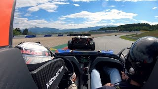 I went OFF-ROAD in a KTM X-BOW | YouTuber Trackday in Austria